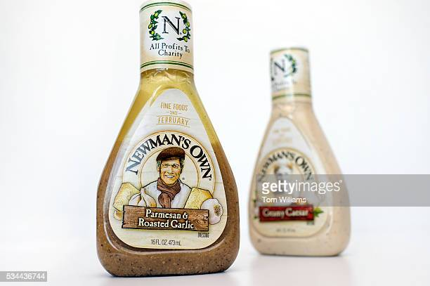 Newman's Own salad dressing in photographed in CQ Roll Call office May 26 2016