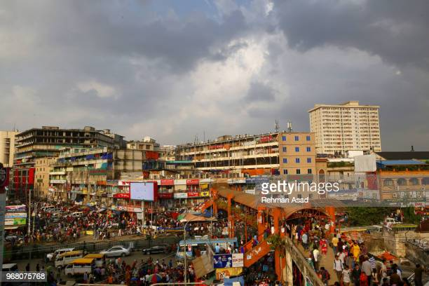 new-market in dhaka - dhaka stock pictures, royalty-free photos & images