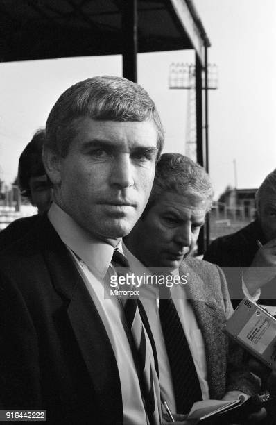 Newport 0-2 Reading, Division Three league match at Rodney Parade, Saturday 12th October 1985. Ian Branfoot, Reading Manager.