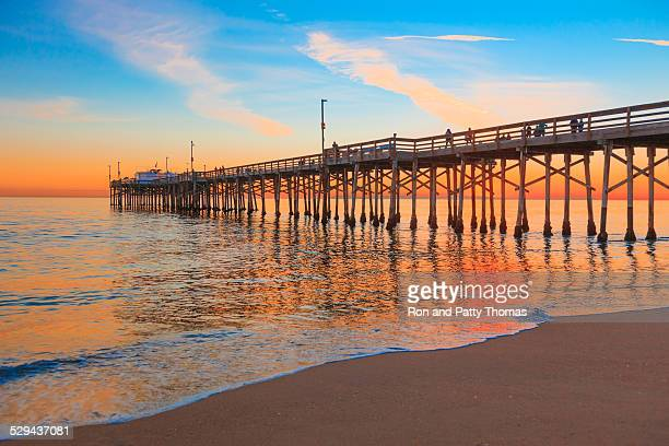 Newport Beach, Balboa molo, RTE 1, Contea di Orange California