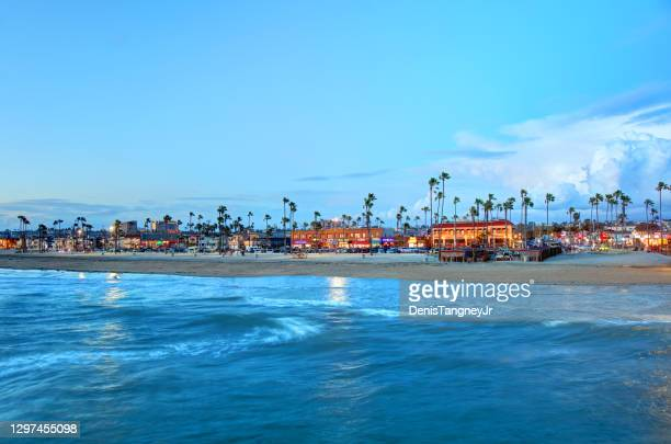 newport beach, california - newport beach california stock pictures, royalty-free photos & images