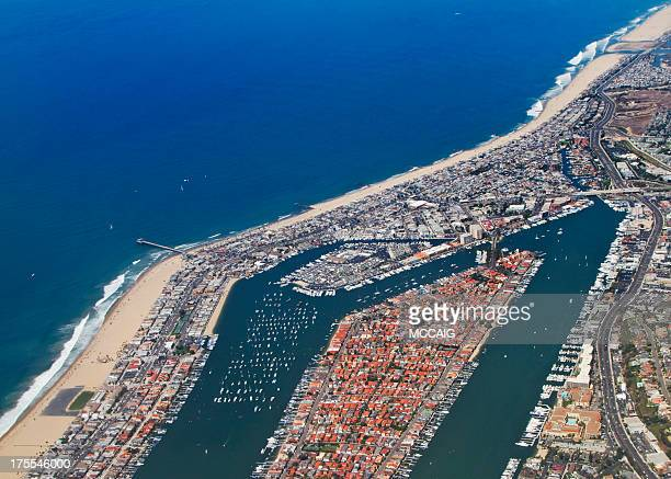 newport beach california - newport beach stock pictures, royalty-free photos & images