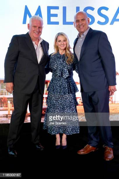 Newport Beach Company President and CEO Gary Sherwin Melissa Rauch and NBFF CEO Gregg Schwenk attend the Newport Beach Film Festival Fall Honors And...