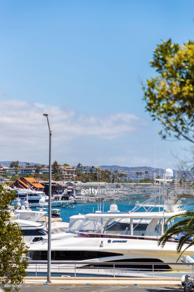 Newport Beach Marina : Stock-Foto