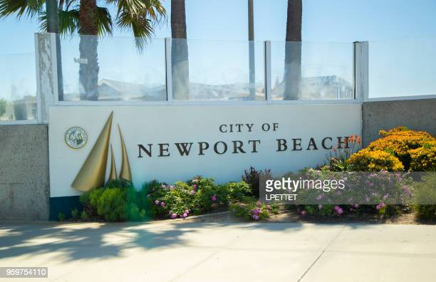 newport beach - newport beach stock pictures, royalty-free photos & images