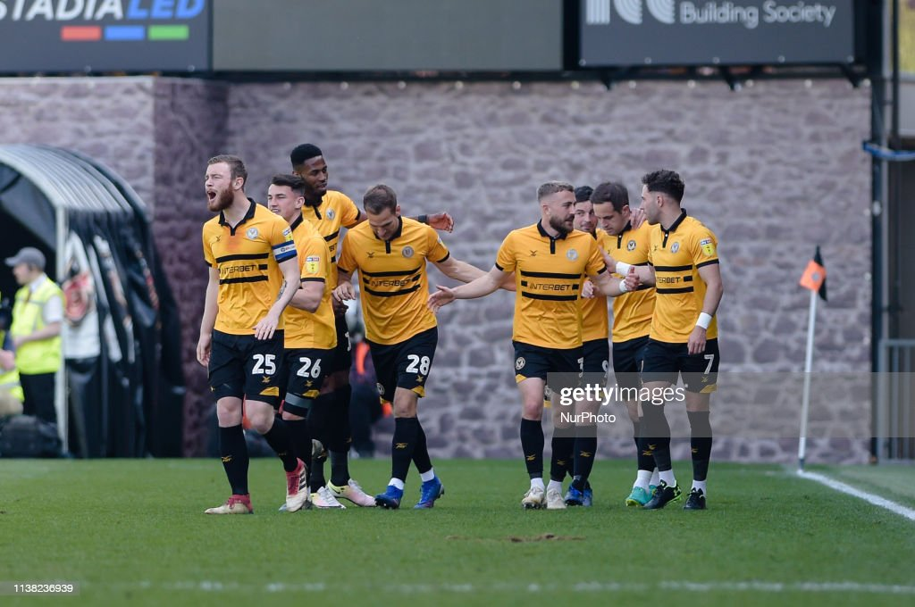 Newport County v Bury - Sky Bet 2 : News Photo