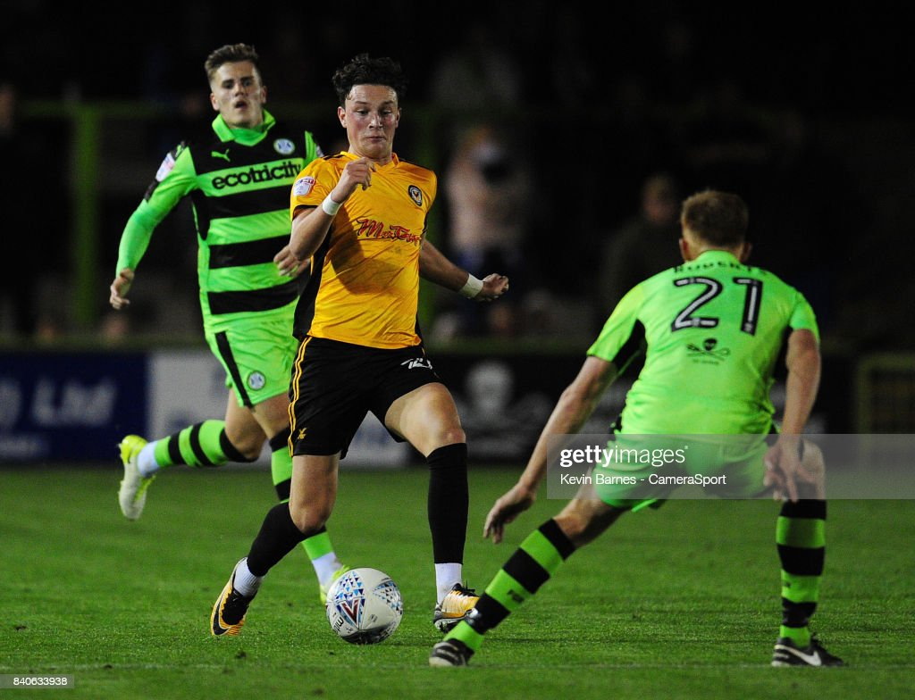 Forest Green Rovers v Newport County - Checkatrade Trophy : News Photo