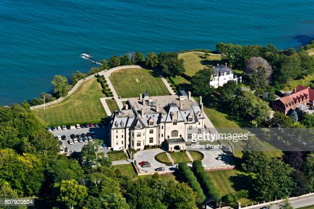newport mansion - newport rhode island stock pictures, royalty-free photos & images