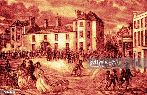 Newport Rising 4 November 1839 Chartists and sympathisers marched on town of Newport to liberate fellow Chartists who had been taken prisoner in the...