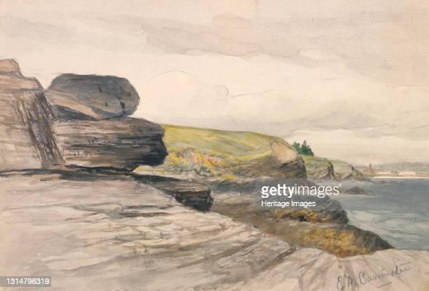 Newport Scene, ca. 1880-1889. Artist Edward Mitchell Bannister.