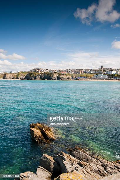 newquay, cornwall - newquay stock pictures, royalty-free photos & images