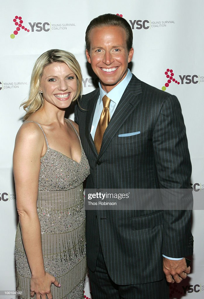 News 12 reporter Erica Zaky and news anchor Chris Wragge attend Young Survival Coalition Hosts 'In Living Pink' Benefit at Crimson on May 20, 2010 in New York City.