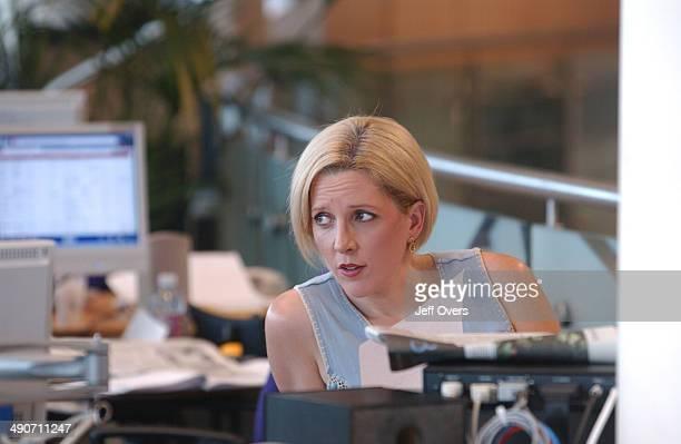 News 24 Presenter Carrie Gracie