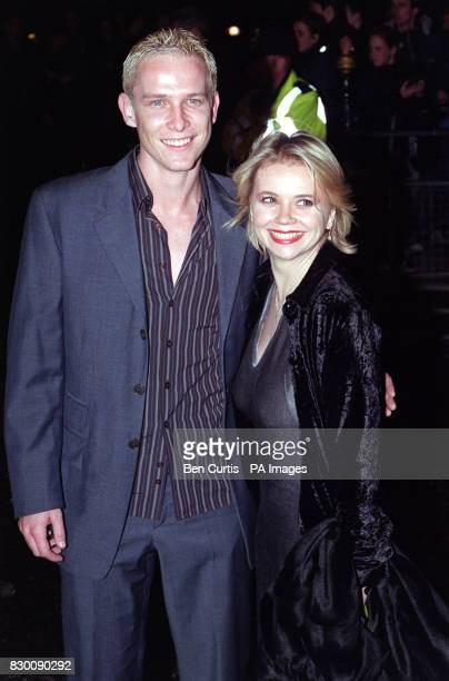 News 27/10/98 Actors from BBC-1's Casualty Jonathan Kerrigan and Rebecca Lacey arrive at the Royal Albert Hall in London for the National Television...