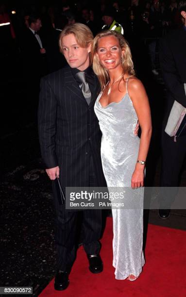 PA News 27/10/98 Coronation Street actors Adam Rickitt and Tracy Shaw arrive at the Royal Albert Hall in London for the National Television Awards