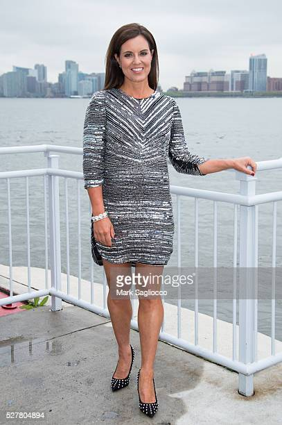 News 7 Meteorologist Amy Freeze attends the Multiple Myeloma Research Foundation 2016 Laugh For Life Fundraiser at Pier 60 on May 3 2016 in New York...