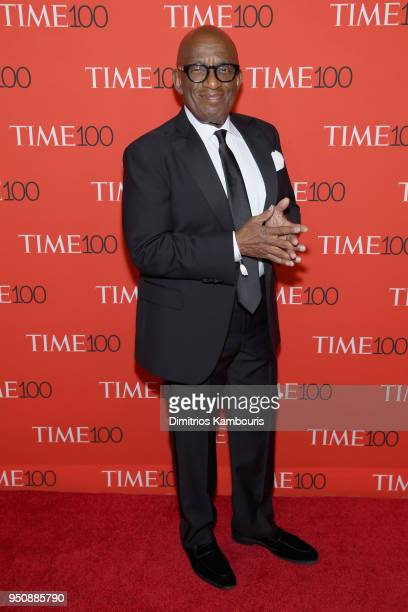 News anchor Al Roker attends the 2018 Time 100 Gala at Jazz at Lincoln Center on April 24 2018 in New York City