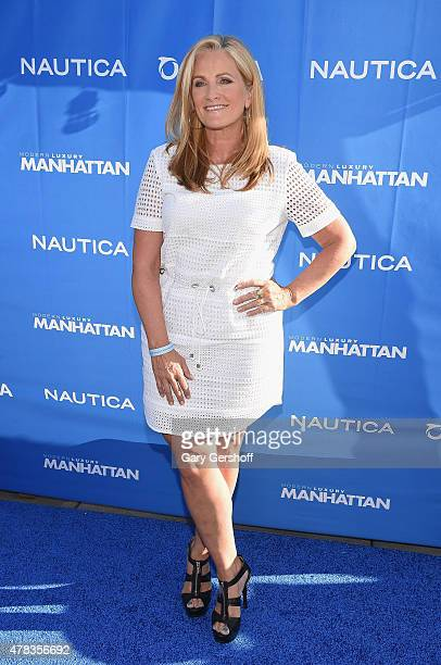 TV news anchor Alex Witt attends the 2015 Nautica Oceana City Sea Party at Gansevoort Park Avenue on June 24 2015 in New York City