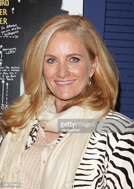 News Anchor Alex Witt attends the Silver Linings Playbook New York Screening at Florence Gould Hall on November 11 2012 in New York City