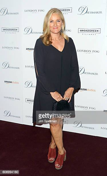 News anchor Alex Witt attends the The Dressmaker New York screening at Florence Gould Hall Theater on September 16 2016 in New York City