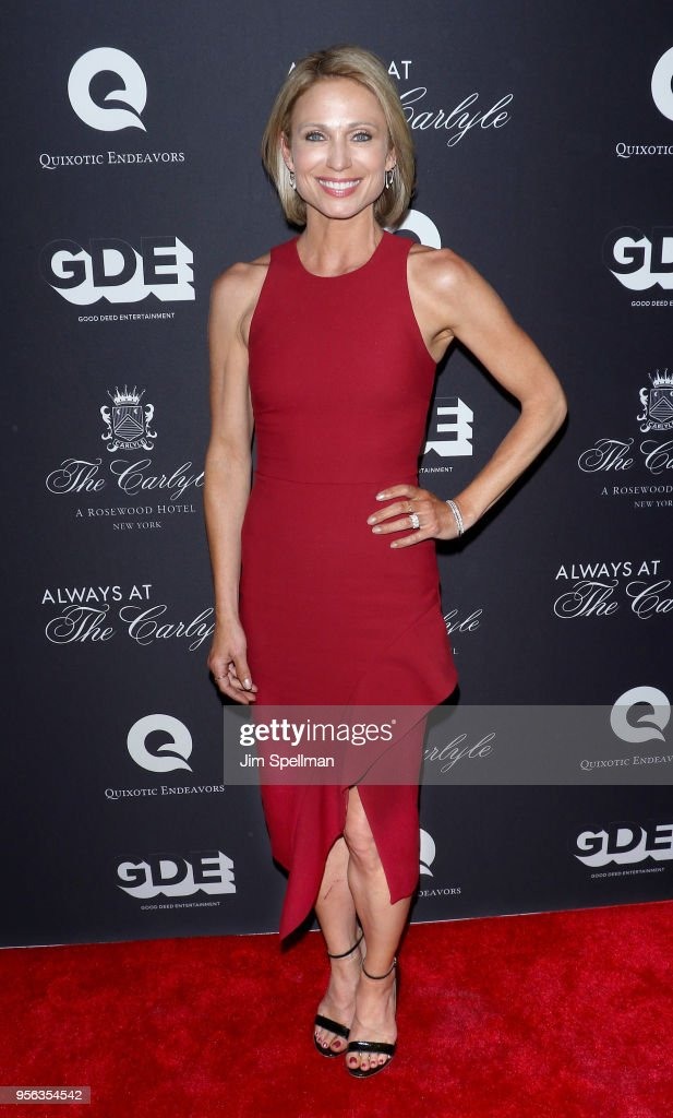 News anchor Amy Robach attends the New York premiere of