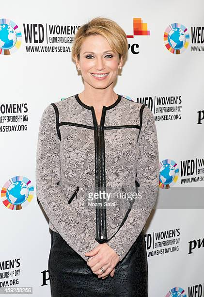 News anchor Amy Robach attends the United Nations 2014 Women's Entrepreneurship Day at United Nations on November 19, 2014 in New York City.