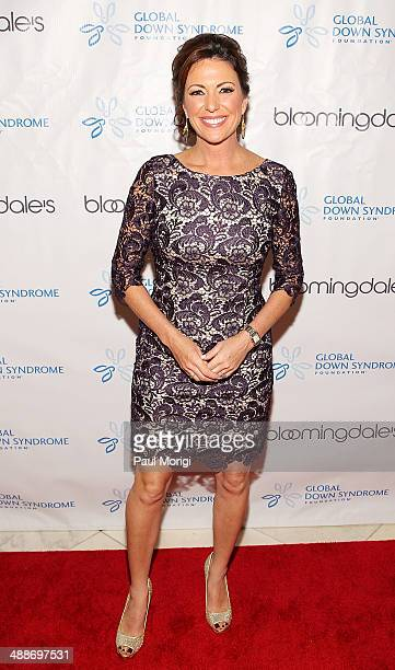 CNN news anchor and reporter Kyra Phillips poses for a photo at the 2014 Global Down Syndrome Foundations Be Beautiful Be Yourself DC Gala at...