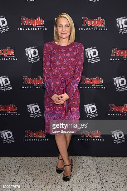 News Anchor Andrea Canning attends the Exclusive Screening Of People Magazine Investigates at Time Inc Corporate Headquarters on November 3 2016 in...
