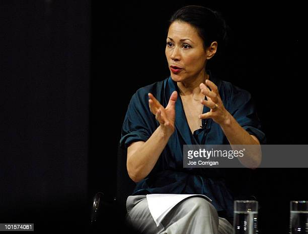 NBC news anchor Ann Curry attends the exhibit launch and panel discussion for Doctors Without Borders Starved for Attention The Crisis of Childhood...