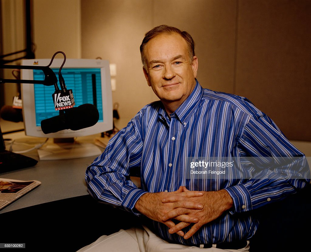 News Anchor Bill O'Reilly in His Office : News Photo
