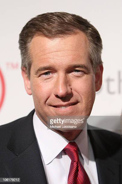 News anchor Brian Williams attends the Auction On Valentine's Day to Benefit AIDS in Africa hosted by and at Sotheby's on February 14 2008
