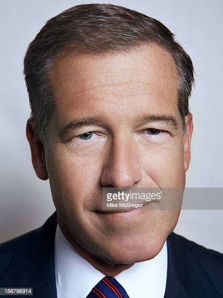 News anchor Brian Williams is photographed for Self Assignment on September 11 2012 in New York City