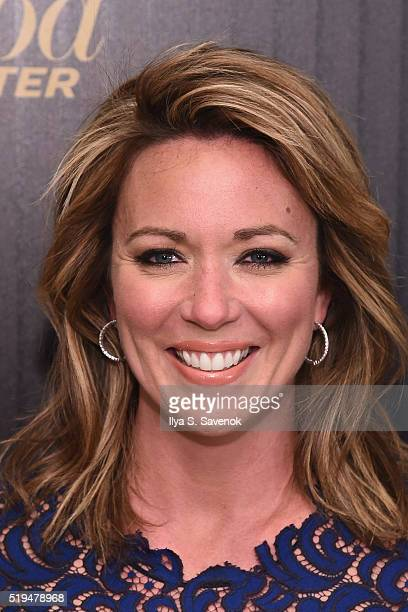 CNN news anchor Brooke Baldwin attends the Hollywood Reporter's 2016 35 Most Powerful People in Media at Four Seasons Restaurant on April 6 2016 in...