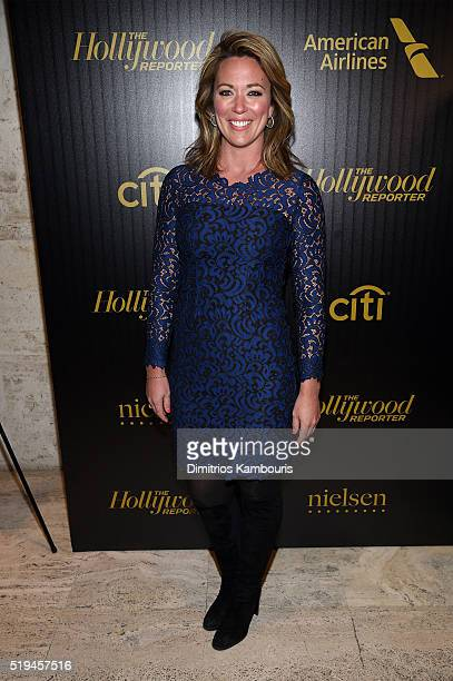 CNN news anchor Brooke Baldwin attends The Hollywood Reporter's 5th Annual 35 Most Powerful People in New York Media on April 6 2016 in New York City