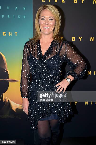 """News Anchor Brooke Baldwin attends the """"Live By Night"""" New York Screening at Metrograph on December 13, 2016 in New York City."""