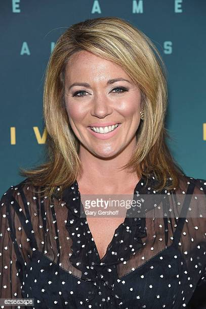 CNN news anchor Brooke Baldwin attends the Live By Night special screening at Metrograph on December 13 2016 in New York City