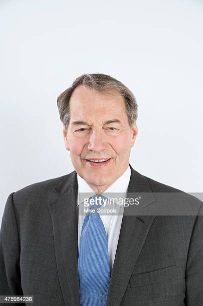News anchor Charlie Rose poses for a portrait at The 74th Annual Peabody Awards Ceremony at Cipriani Wall Street on May 31 2015 in New York City