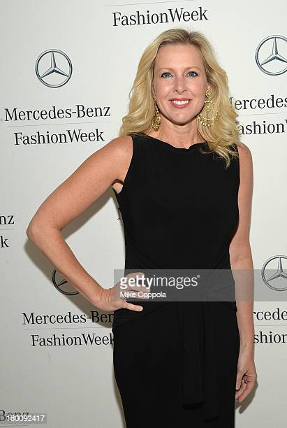 News anchor Cheryl Casone attends the MercedesBenz Star Lounge during MercedesBenz Fashion Week Spring 2014 on September 8 2013 in New York City