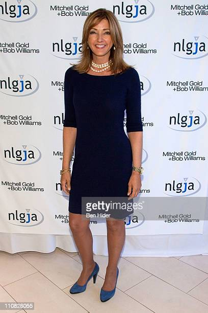 News Anchor Chris Jansing attends the National Lesbian gay Journalists Association 16th Annual New York benefit at Mitchell Gold Bob Williams SoHo...