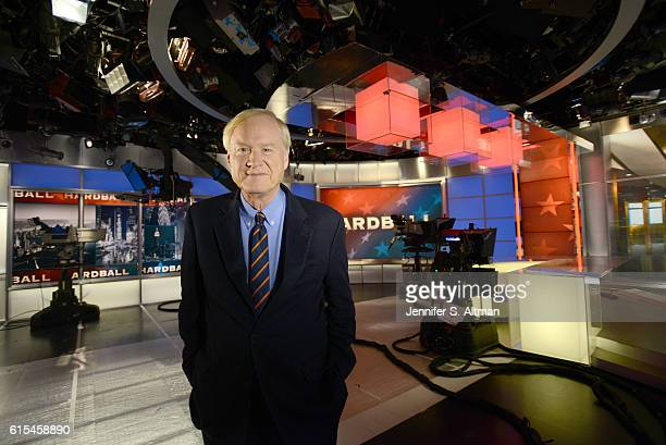 News anchor Chris Matthews is photographed for Philadelphia Inquirer on July 11 2016 in New York City PUBLISHED IMAGE