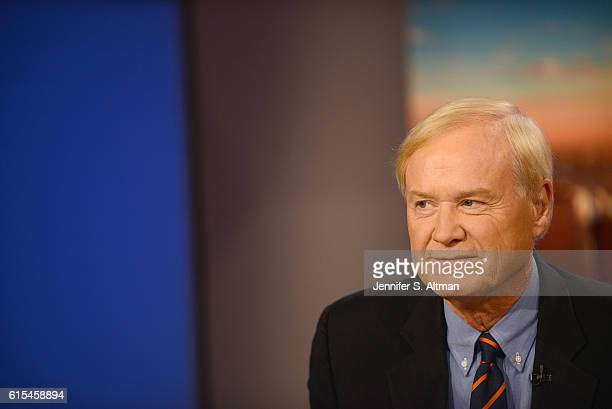 News anchor Chris Matthews is photographed for Philadelphia Inquirer on July 11 2016 in New York City