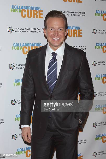 News anchor Chris Wragge attends the 17th Annual Samuel Waxman Cancer Research Foundation's Benefit Dinner And Auction at Cipriani Wall Street on...