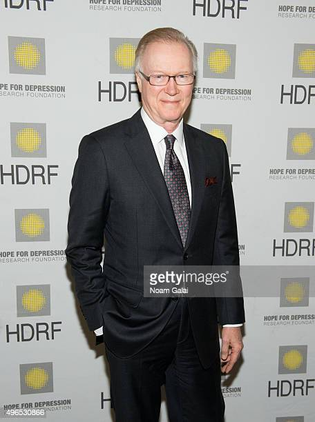 News Anchor Chuck Scarborough attends the 2015 Hope For Depression Research Foundation luncheon at 583 Park Avenue on November 10 2015 in New York...
