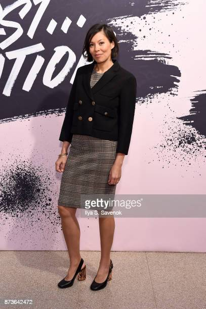 News Anchor Contributing Editor of CBS and The Atlantic Alex Wagner during Glamour Celebrates 2017 Women Of The Year Live Summit at Brooklyn Museum...