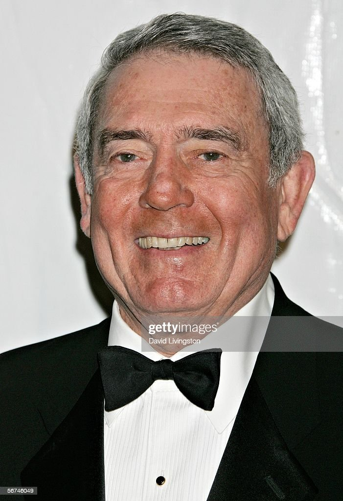 News anchor Dan Rather arrives at the 2006 Writers Guild Awards held at The Hollywood Palladium on February 4, 2006 in Hollywood, California.