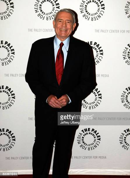 News anchor Dan Rather attends the Media and the Voting Rights Act of 1965 panel discussion at the Paley Center for Media on October 20 2008 in New...
