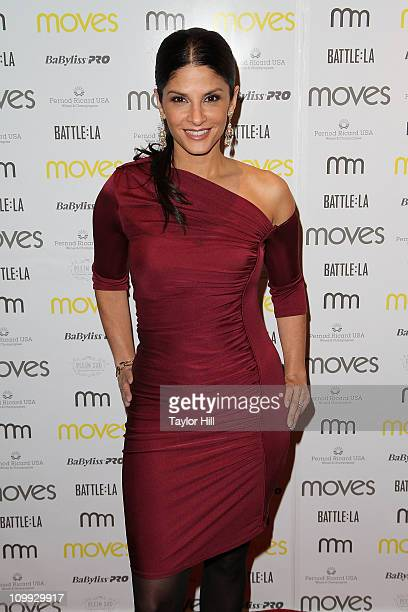 News anchor Darlene Rodriguez attends the 2011 New York Moves Magazine Spring Party at Plein Sud on March 10 2011 in New York City