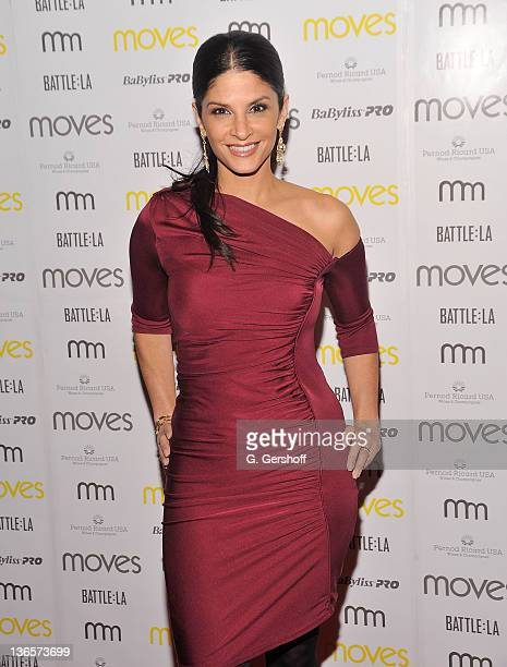 TV news anchor Darlene Rodriguez attends the 2011 New York Moves Magazine Spring Party at Plein Sud on March 10 2011 in New York City