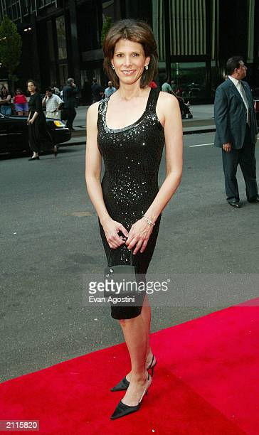 News Anchor Daryn Kagan arrives at the National 2003 Gracie Allen Awards at The New York Hilton June 26 2003 in New York City The Gracie Allen Awards...