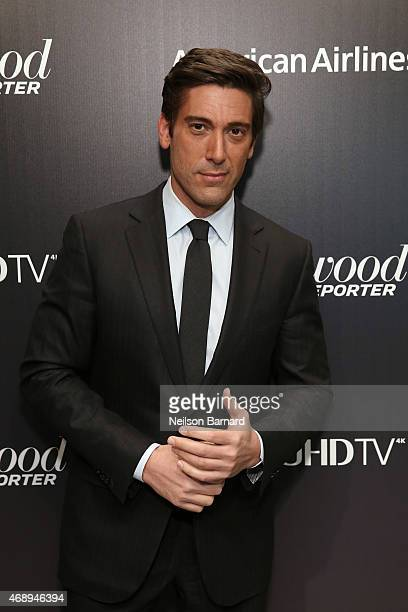 News anchor David Muir attends 'The 35 Most Powerful People In Media' celebrated by The Hollywoood Reporter at Four Seasons Restaurant on April 8...